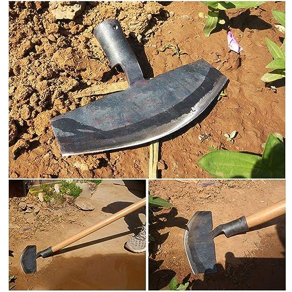 Amazon.com: LYY - Pala de cabeza plana de acero de manganeso ...