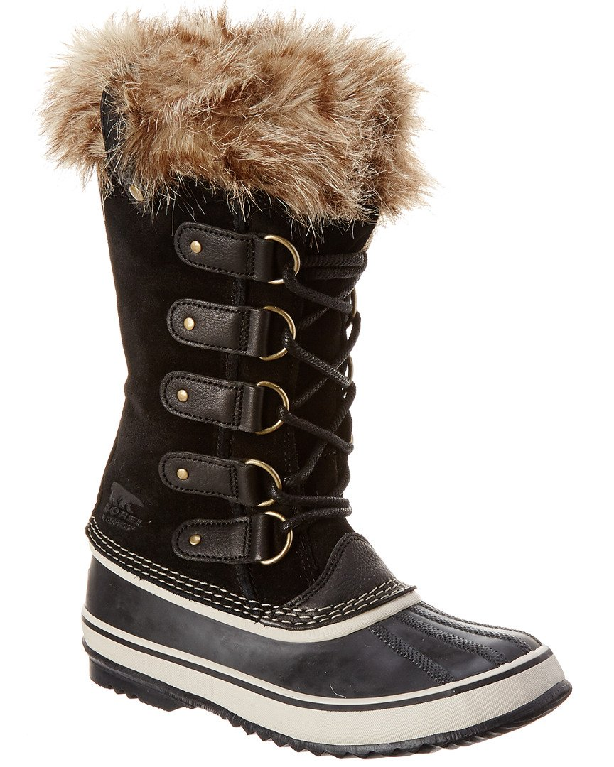 SOREL Women's Joan Of Arctic, Black 2, 8 B-Medium