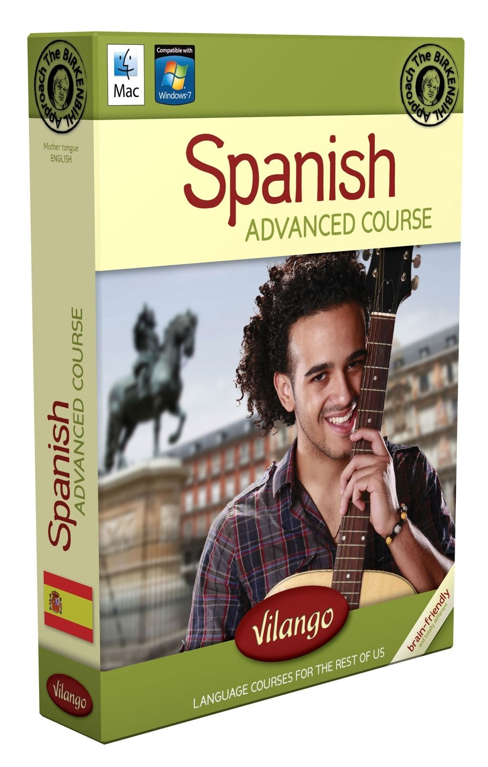 Spanish Brain-friendly, Computer/audio Course, Mac, Pc: Advanced Course Part 1: Learning Spanish Brain-friendly, Computercourse Vilango