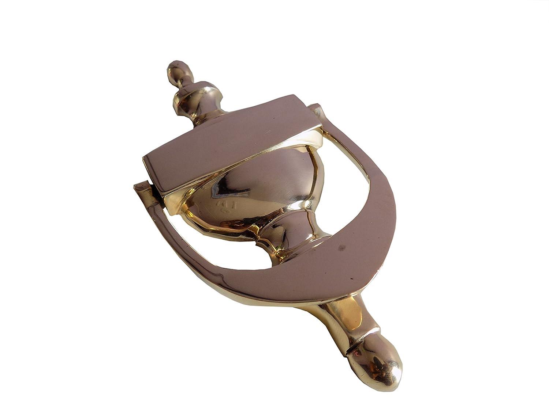 16 cm Beautiful Doll House Lató n Heavy –  Llamador de puerta Ares India