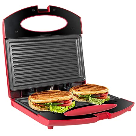 OZAVO Sandwichera Grill,Parrilla Eléctrica,Placas de Grill ...