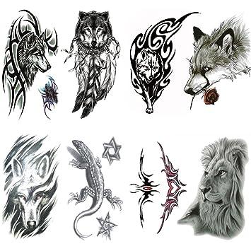 2b663075a Amazon.com : Qufan Arm Tattoo for men, Teens Guys, kids boys (8 ...