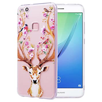 coque huawei p10 silicone animaux