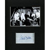 Kareem Abdul-Jabbar Autographed Picture - Roger Murdock Airplane! Rare Autograph Display - NBA Cut Signatures photo