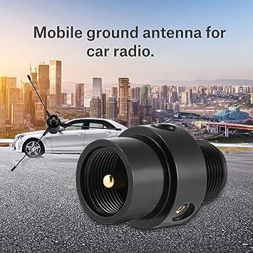TengKo RE-02 Funda para Antena Suelo UHF-F 10-1300 MHz Antena para Ground Mobile Antena Suelo para Radio de Coche