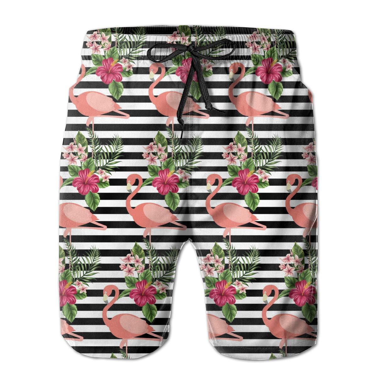 Fit Swim Trunks Big /& Tall Board Shorts for Boys Mens Loose Quick Dry Swimwear