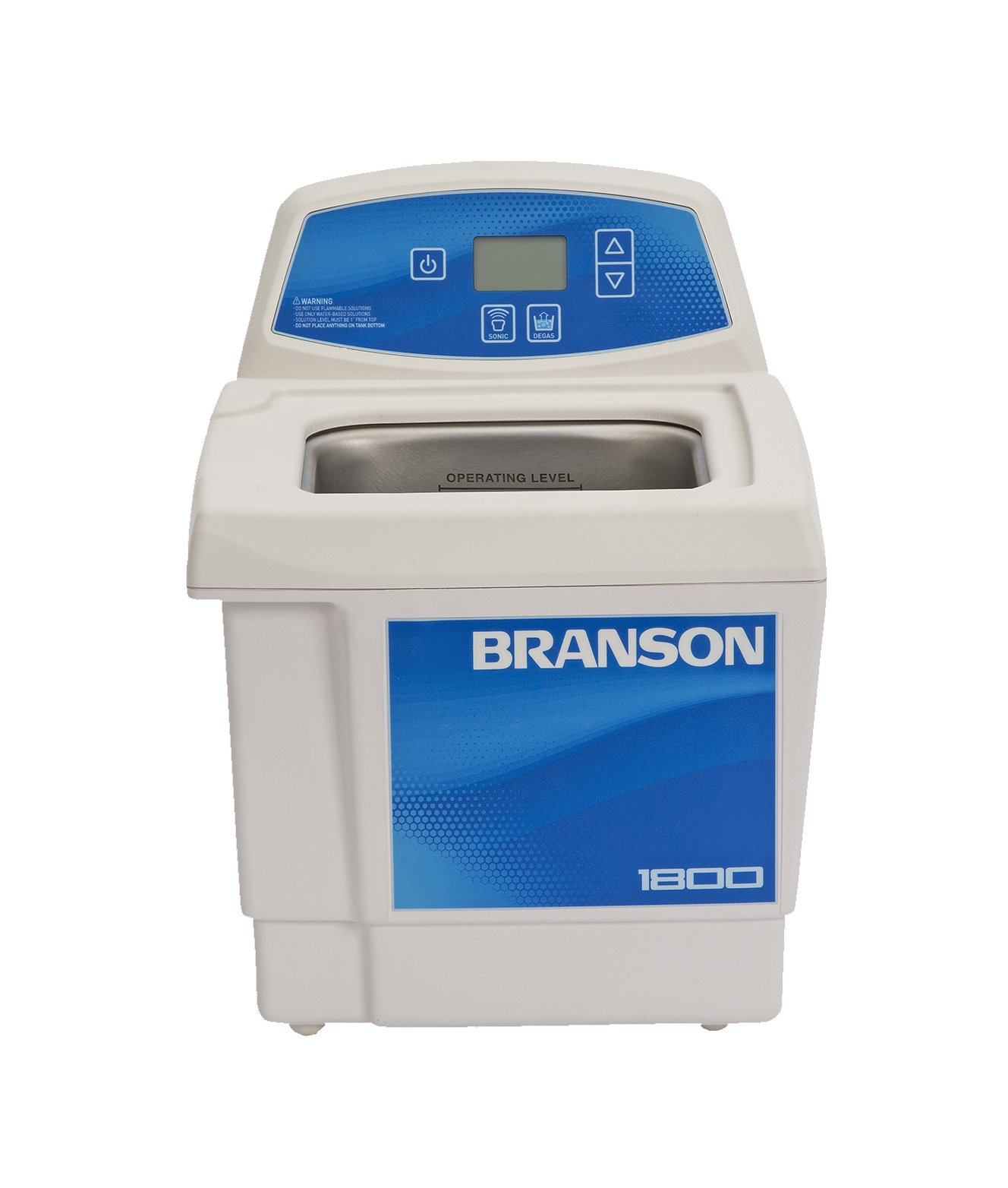 Branson CPX-952-117R Series MH Mechanical Cleaning Bath with Mechanical Timer and Heater, 0.5 Gallons Capacity, 120V
