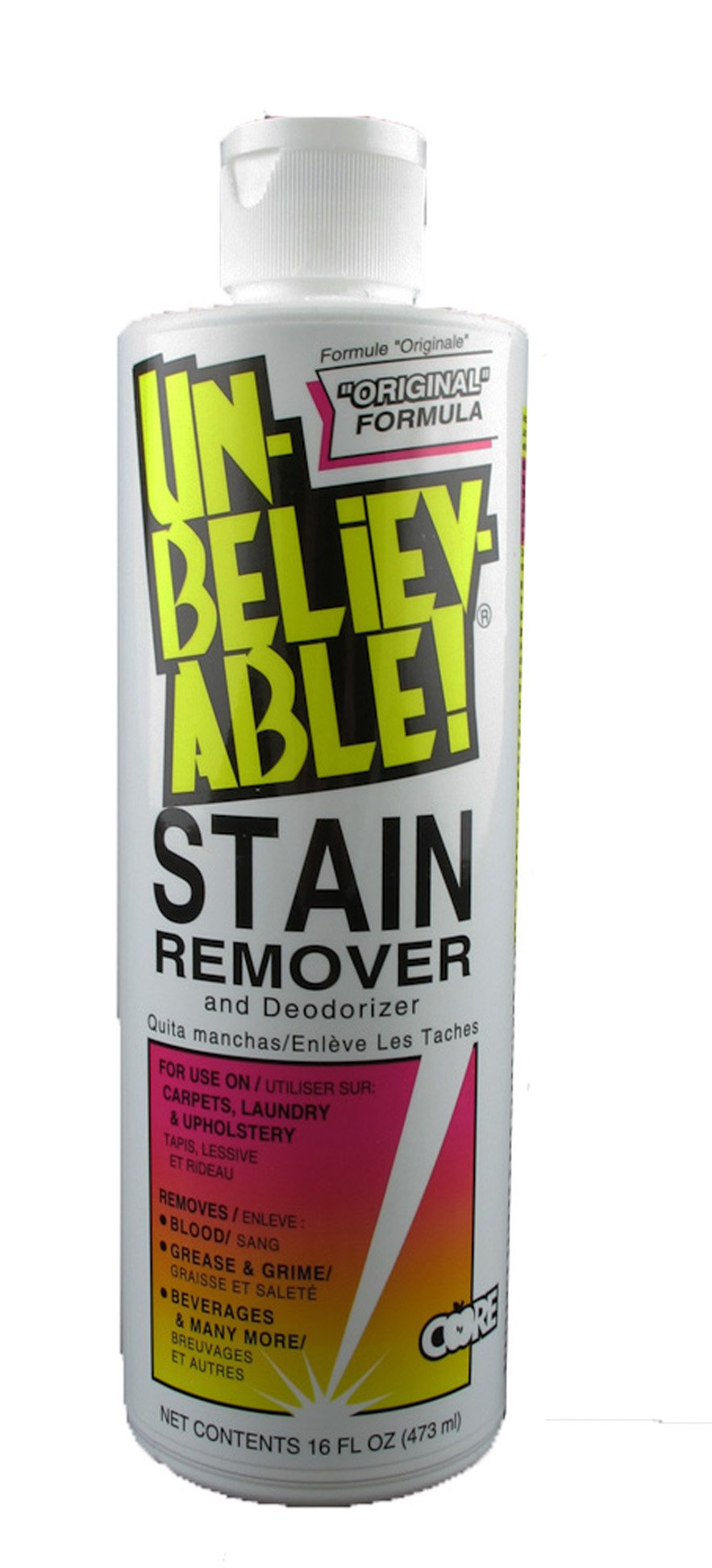 Unbelievable! SR-100 16 Oz. Stain Remover (Case of 12)