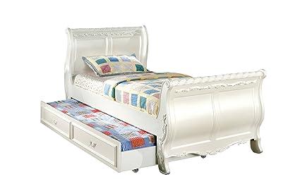 Amazoncom Furniture Of America Nathalia Fairy Tale Style Twin