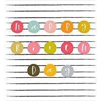 Think of Me TOMSNR39 Birthday Spots Greeting Card