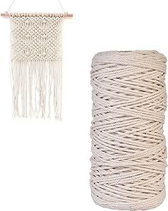 Algodón de macramé Craft Cable Cuerda para cortina de hilo hecho a ...
