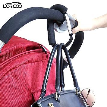 Buggy Clip Kinderwagen Zugang Aufhänger Einkaufstasche Haken Stroller
