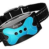 DogRook Rechargeable Dog Bark Collar - Humane, No Shock Barking Collar - w/2 Vibration & Beep Modes - Small, Medium, Large Do