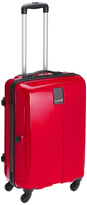 Safari Thorium Polycarbonate 66 cms Red Hardsided Suitcase (Thorium-Sharp-Red-65-4WH)