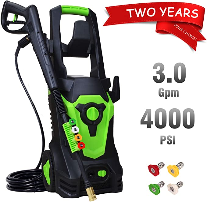 PowRyte Elite 4000PSI 3.0GPM Electric Power Washer Review