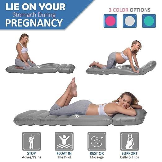 Amazon.com: Holo – el inflable almohada de maternidad Raft ...