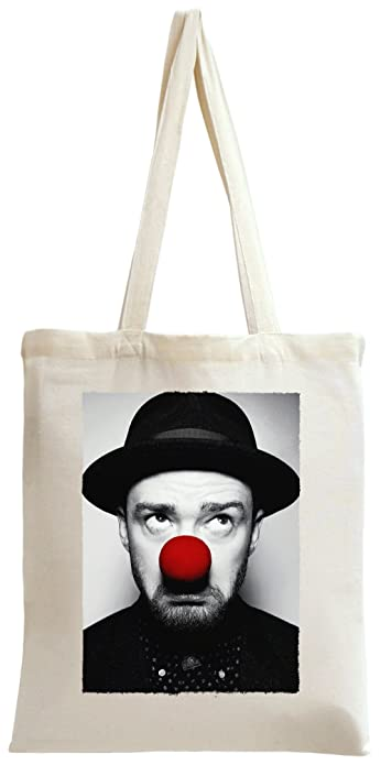Cute Justin Timberlake With Red Nose Sac à main Tote Bag