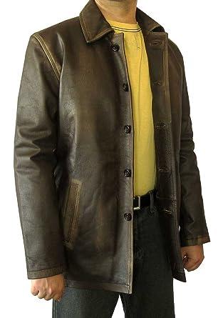 Coat En Leatherhill Cuir Winchester Supernatural Dean Veste qnwTB4F