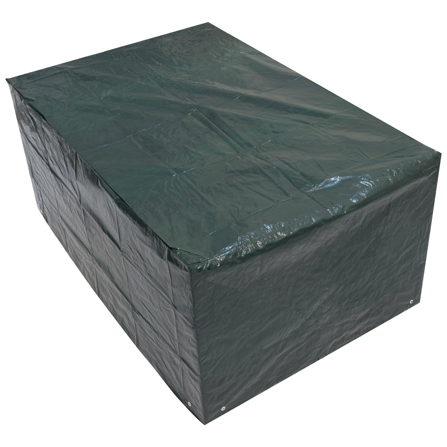 Small Rectangle Outdoor Garden Table Cover 1.52m x 1.04m x 0.71m / 5ft x 3.4ft x 2.3ft Woodside