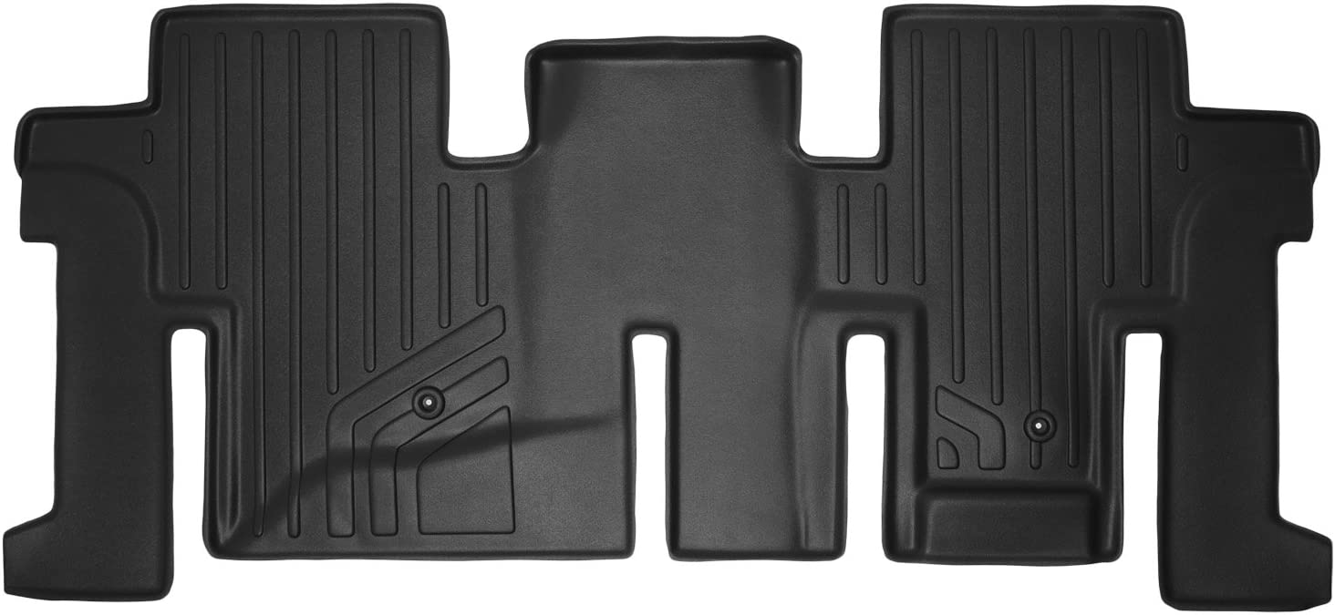 2014-2019 QX60 2013 Infiniti JX35 SMARTLINER Floor Mats 2 Row Liner Set Black for 2013-2018 Nissan Pathfinder