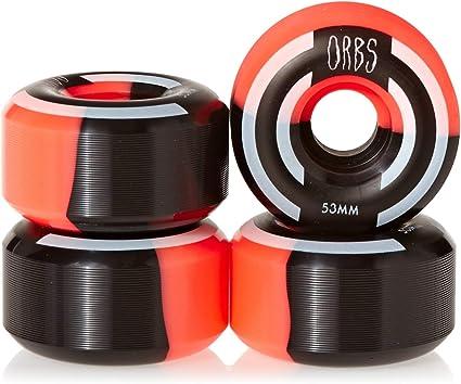 Orbs Apparitions Splits 53 mm Wheels Coral//Black