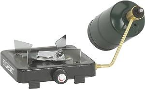 STANSPORT - Single Burner Propane Burner Camping Stove (5,500 BTU, Black)