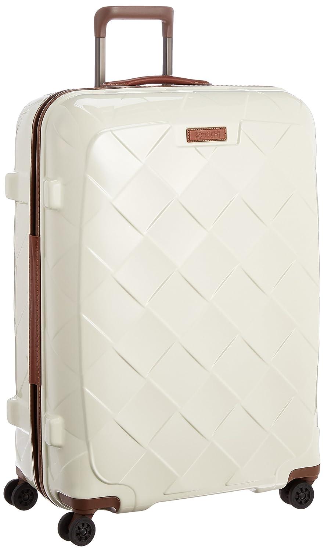 [ストラティック] スーツケース ジッパー レザー&モア 大型 グッドデザイン賞 保証付 100L 75 cm 4.36kg B01M3UC5EC ミルク