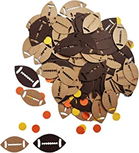 Football Confetti Sport Table Confetti Chargers/Athlete/Field Goal/Helmet Baby Shower Birthday Party Supplies Decorations Table Scatter Decor Photo Booth Props