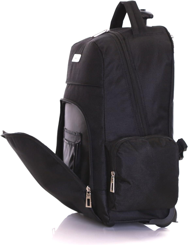 MorleyNoir Slimbridge Sac dordinateur Portable Bagage Cabine /à Main Valise avec des Roues 53 cm 1,5 kg 30 Litre 2 Roues