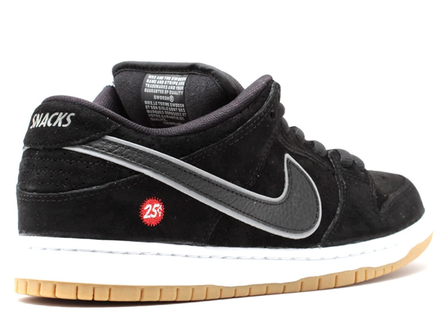 finest selection 67fe3 a3139 Nike Dunk Low SB 'QUARTERSNACKS' - 313170-019: Amazon.in ...