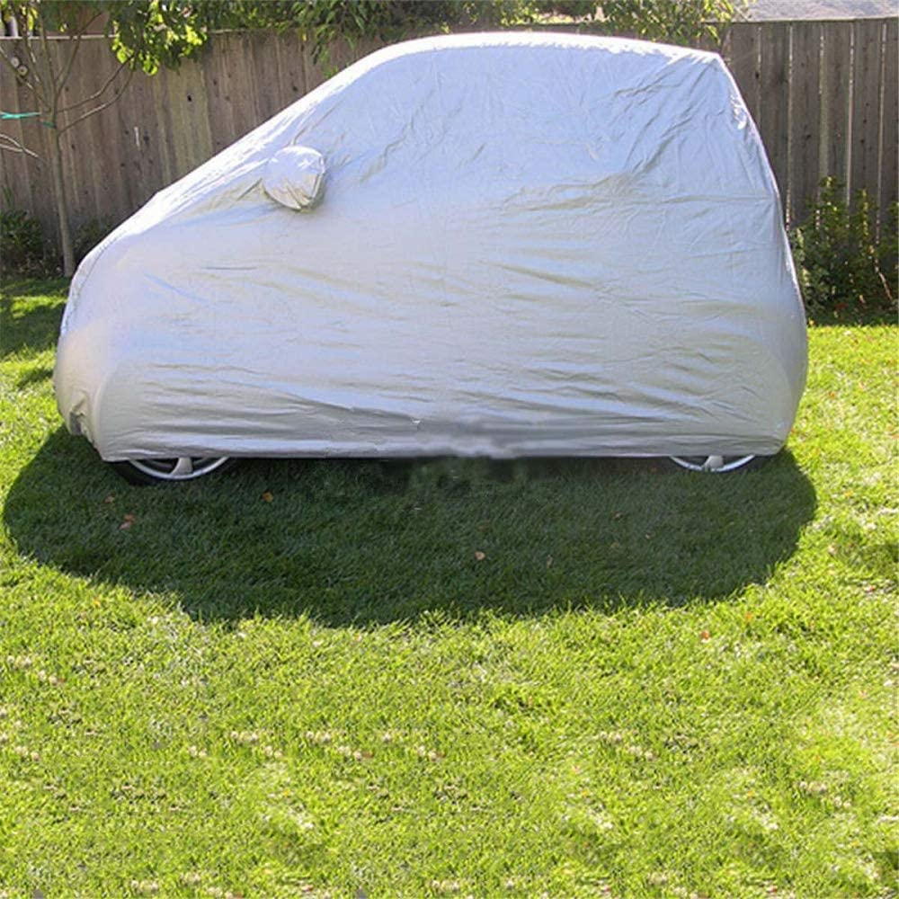 Piaobaige 2,7X1,7X1,6m Auto Abdeckung Sonne Regen Staubdicht Wasserdicht Schild f/ür Benz Smart Fortwo Auto Auto Outdoor Schutzfolie