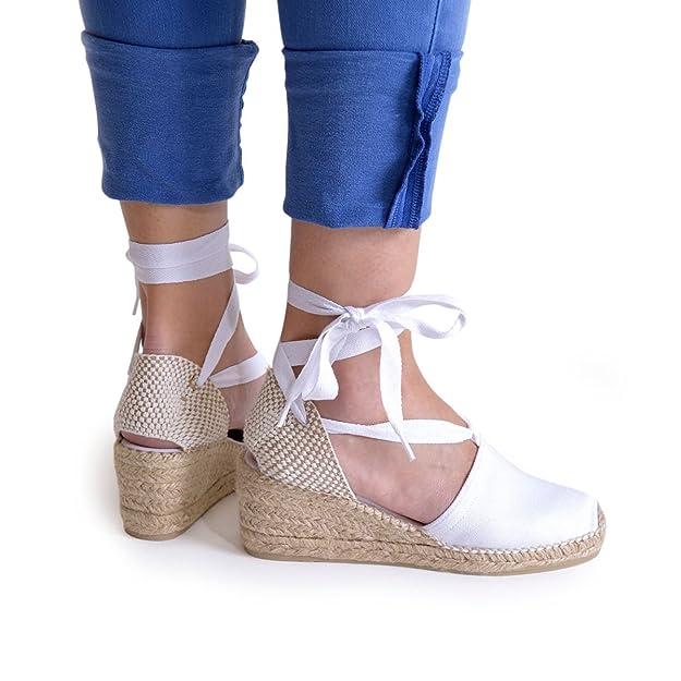 Valencia - Alpargata Vegana para Mujer de TONI PONS Hecha en Tejido.: Amazon.es: Zapatos y complementos