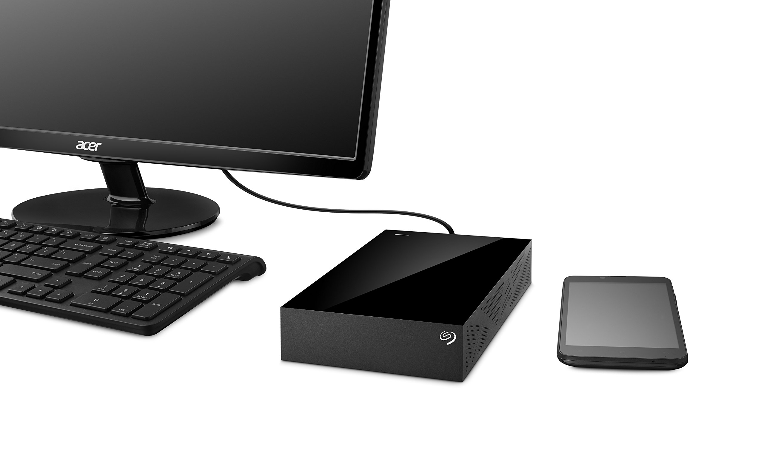 Seagate Desktop 8TB External Hard Drive HDD – USB 3.0 for PC Laptop and Mac (STGY8000400) by Seagate (Image #6)
