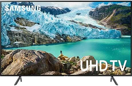 SAMSUNG UN65RU7100 65-Inch RU7100 LED Smart 4K UHD TV (2019) - (Renewed)