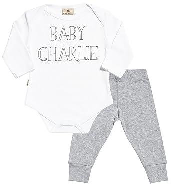 Regalos Bebe Personalizados Amazon.Spoilt Rotten Personalizados Bebe Baby Name Baby Regalo Para
