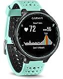 Garmin Forerunner 235 GPS Sportwatch con Sensore Cardio al Polso e Funzioni Smart, Nero/Blu Ghiaccio