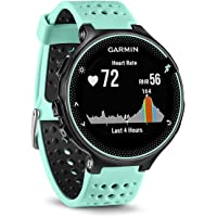 Garmin Forerunner 235 GPS Running Watch with Elevate Wrist Heart Rate and Smart Notifications - Black/Frost Blue