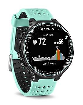 Garmin Forerunner 235 - Reloj con pulsómetro en la muñeca, Unisex, Color eléctrico Negro y Azul Hielo, Talla única (Reacondicionado): Amazon.es: Electrónica
