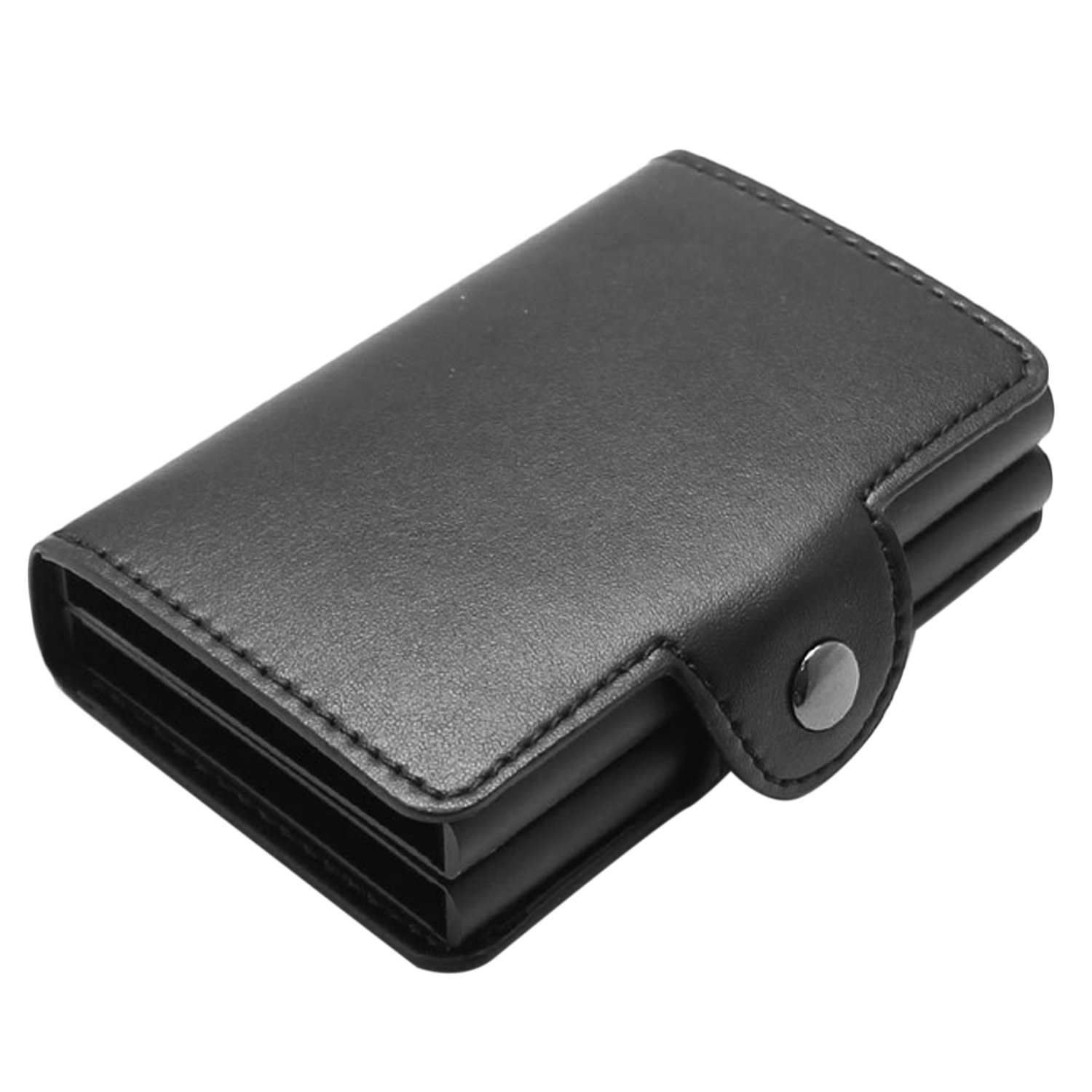 Credit Card Wallet, Elisona Automatic Pop up RFID Blocking Anti-Theft Genuine Leather Card Wallets Holder Case for Men Women Business Credit ID Gift Card Elisona S