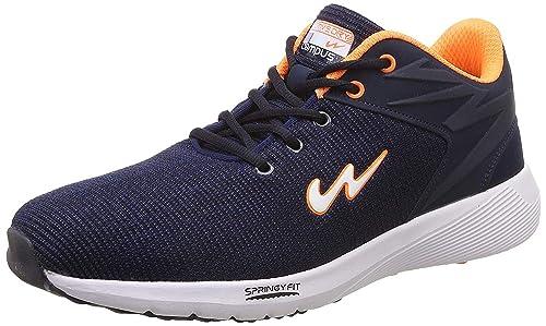 Campus Men's Blue \u0026 Orange Sports Shoes