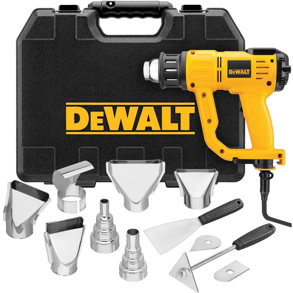 DEWALT Heat Gun with LCD Display & Hard Case/Accessory Kit (D26960K)