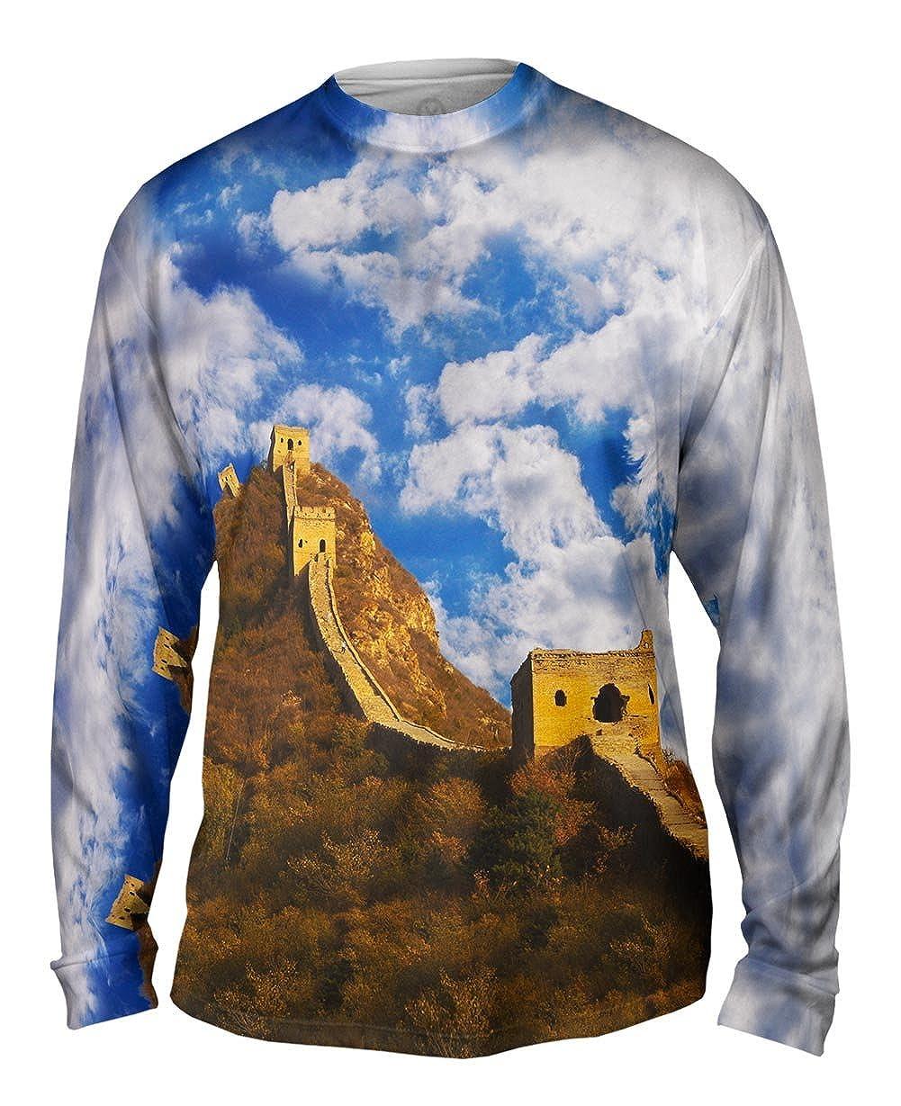 Mens Long Sleeve Yizzam Great Wall Of China TShirt