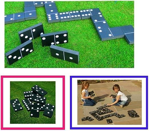 Gigante dominó dominós jardín de Verano al Aire Libre Familia ...