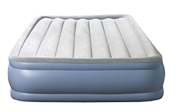 simmons deep sleep mattress. simmons mm02117qn deep sleep queen hi loft raised airbed, 17-inch mattress y