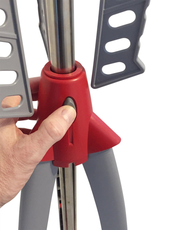 Tendedero Altura Regulable - Tendedero plegable para ahorrar espacio de dryzem de 2 años de garantía