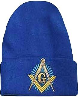 63209730 Buy Caps and Hats Mason Blue Winter Skull Cap Knit Ski Hat Masonic Lodge  Cuffed Beanie