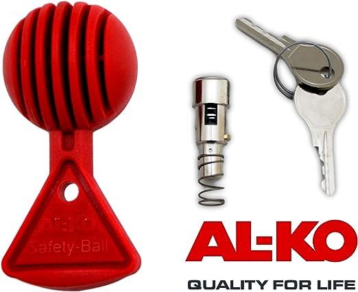 p4U AL-KO Kugelkupplung AK 270 Optima f Schlie/ßzylinder 1730082 Anh/änger bis 2700 kg inkl
