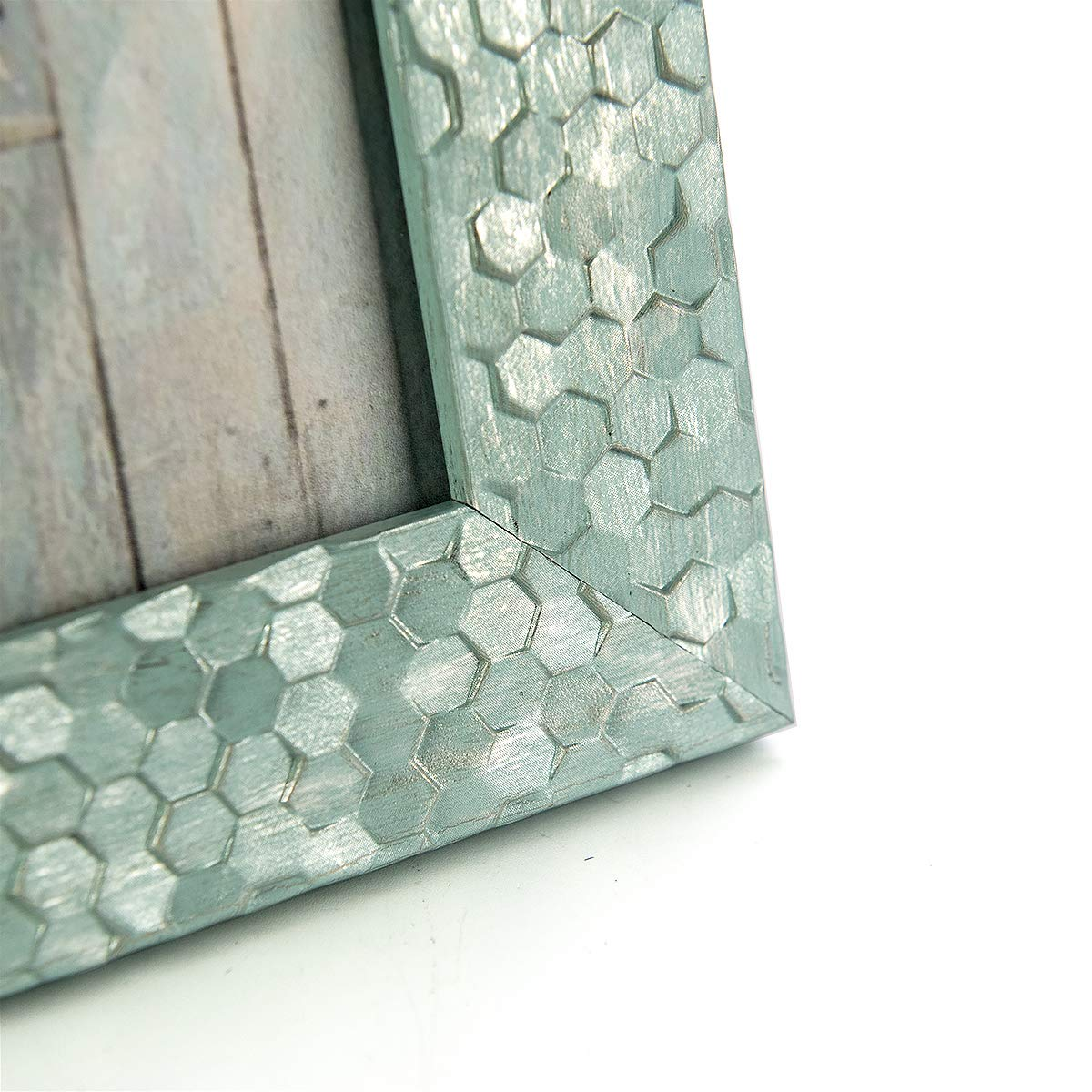 Buy Homeme 5x7 Picture Frames Rustic Photo Frame Set With High Definition Glass For Wall Mount Table Top Display Set Of 3 5 X7 3p Style7 Online At Low Prices In India