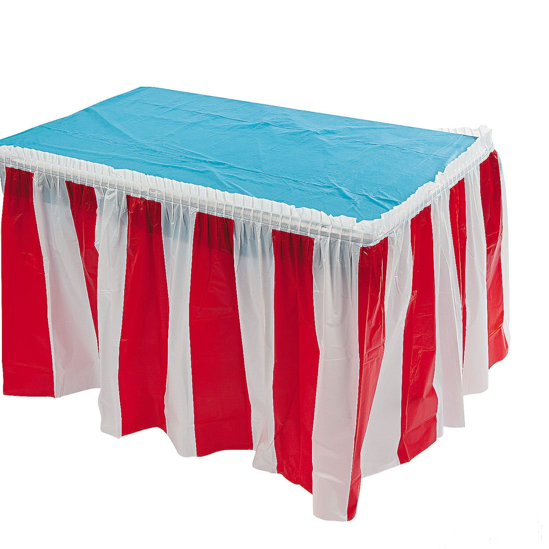 High Quality Amazon.com: 4 Pack Red U0026 White Striped Table Skirt Carnival Circus  Decorations: Toys U0026 Games