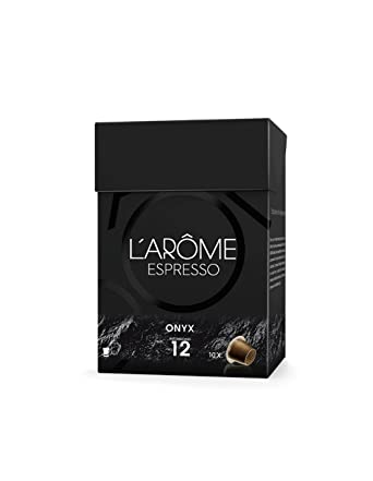 L Arome Espresso - Onyx - Café - 10 Cápsulas - [Pack de 4